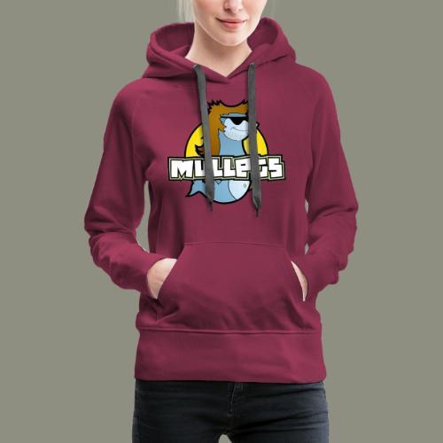 mullets logo - Women's Premium Hoodie