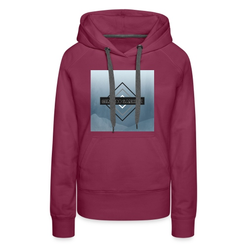 Rhombus Design - Women's Premium Hoodie