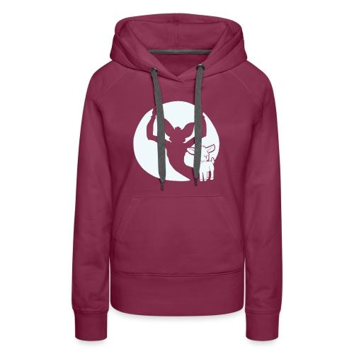 evil goat - Women's Premium Hoodie