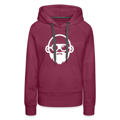 We Build Stuff - Floating Head (white) - Women's Premium Hoodie