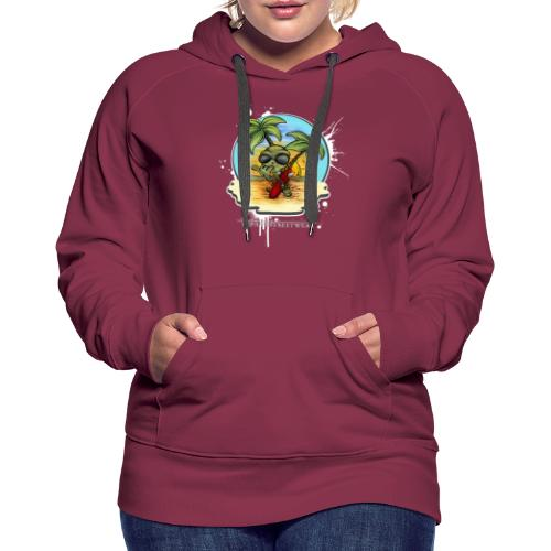 let's have a safe surf home - Women's Premium Hoodie