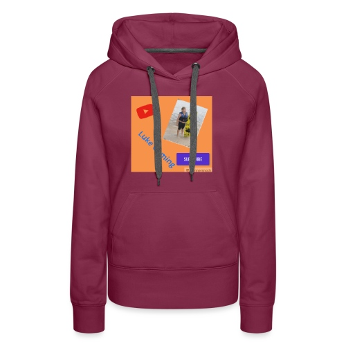 Luke Gaming T-Shirt - Women's Premium Hoodie