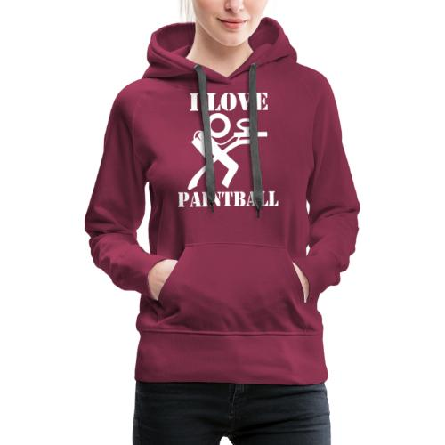 I Love Paintball 2019 - Women's Premium Hoodie