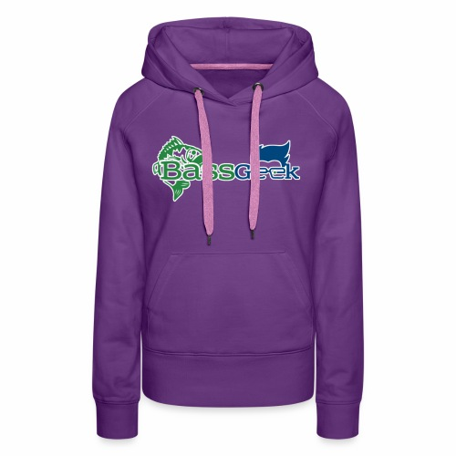 BassGeek Logo - Women's Premium Hoodie