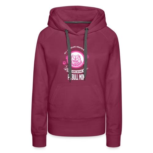 pitbullmom - Women's Premium Hoodie