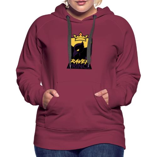 Modern xRavenPrincex Name/Logo - Women's Premium Hoodie