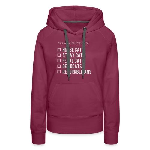 Democats & Repurrblicans - Women's Premium Hoodie