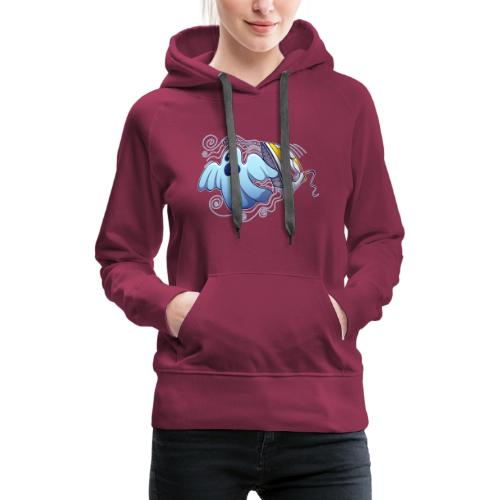 Heated iron, the worst nightmare for an evil ghost - Women's Premium Hoodie