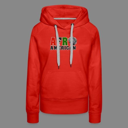 Afro American RBG - Women's Premium Hoodie