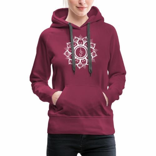 White Mandala - Women's Premium Hoodie