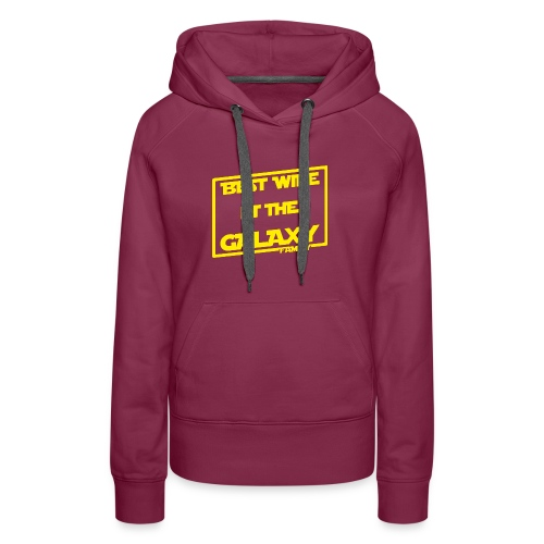 Best Wife In The Galaxy - Women's Premium Hoodie