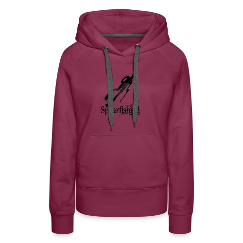 Spearfishing Design - Women's Premium Hoodie