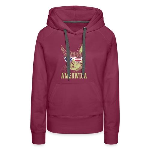 Ameowica Shirt Funny Cat Daddy Shirt for Men - Women's Premium Hoodie