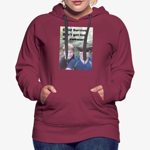 Awkward Shirt - Women's Premium Hoodie