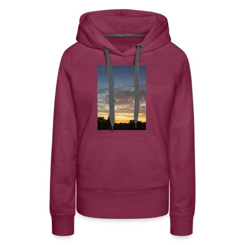 nuclear sunset - Women's Premium Hoodie