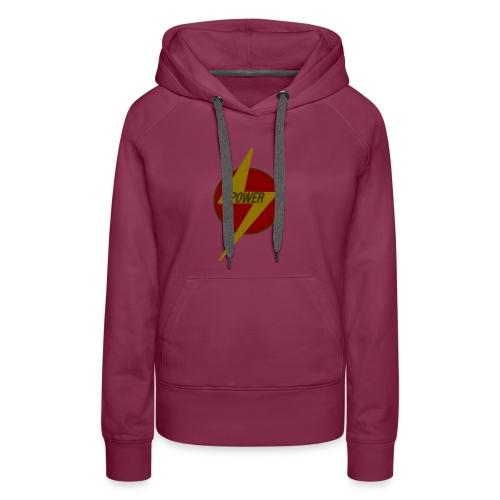 Flash of Power - Women's Premium Hoodie