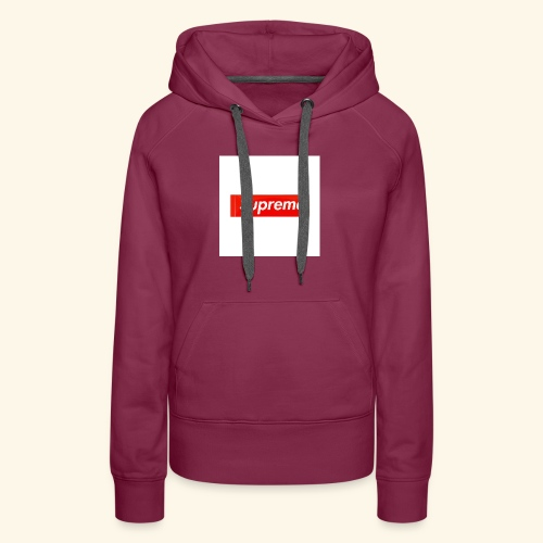 Cool Supreme clothes - Women's Premium Hoodie