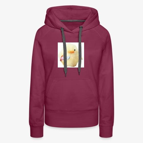 Cute Chicken with Knife Shirt! - Women's Premium Hoodie