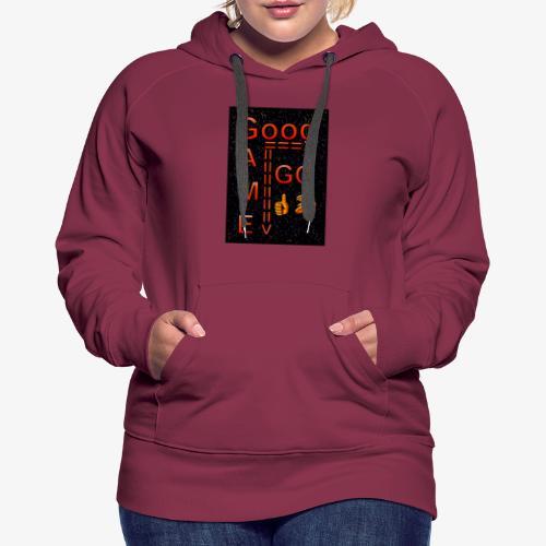 Good Game GG - Women's Premium Hoodie