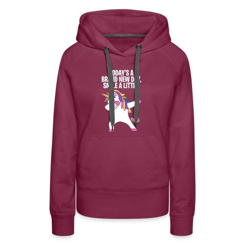 Unicorn DAB T-shirt - Women's Premium Hoodie