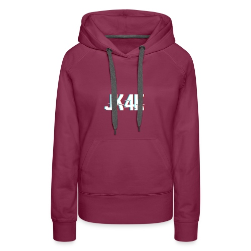Glitch JK4K - Women's Premium Hoodie