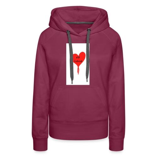 Give Love - Women's Premium Hoodie