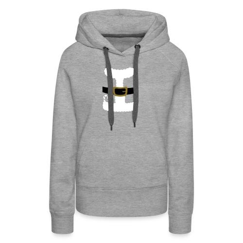 SANTA CLAUS SUIT - Men's Polo Shirt - Women's Premium Hoodie