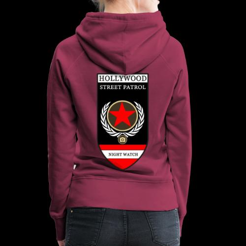 HOLLYWOOD STREET PATROL - Women's Premium Hoodie