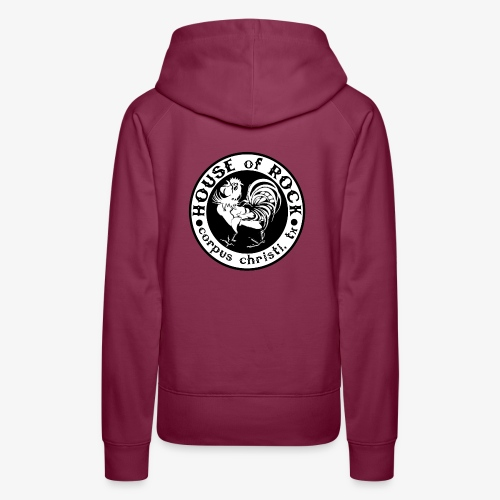 House of Rock round logo - Women's Premium Hoodie