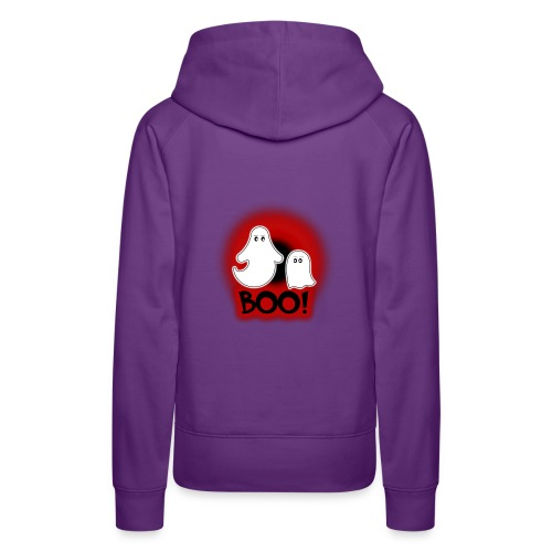 Ghosties Boo Happy Halloween 2 - Women's Premium Hoodie