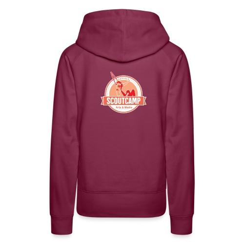 aerials red - Women's Premium Hoodie