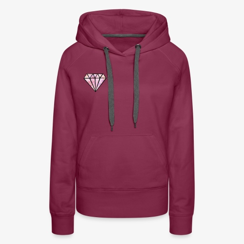 diamond style - Women's Premium Hoodie