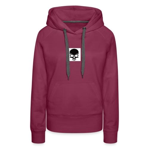 B1DBuy my Merch skull lit must buyyyyyyyyyyyyyyyyy - Women's Premium Hoodie
