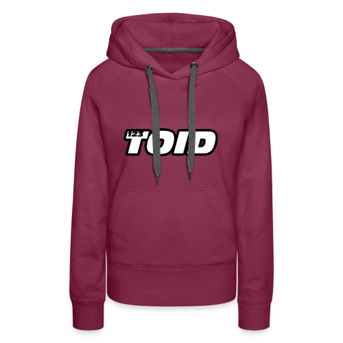 123Toid Custom Audio and Speaker Design - Women's Premium Hoodie