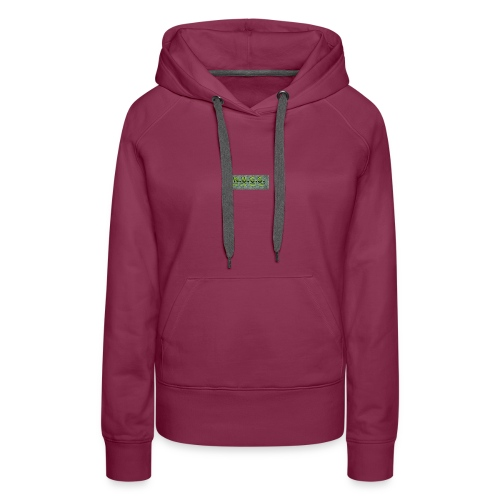 NUGS reflective logo - Women's Premium Hoodie
