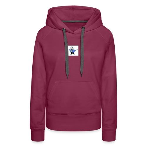 undertale-sans i hope you like it - Women's Premium Hoodie