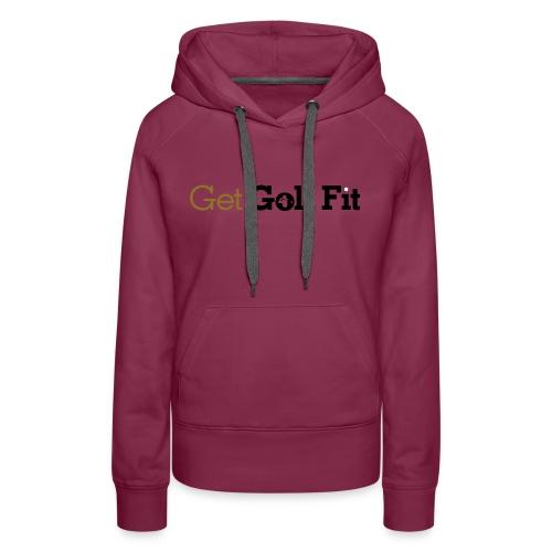 CH GetGolfFit Logo Final Green - Women's Premium Hoodie