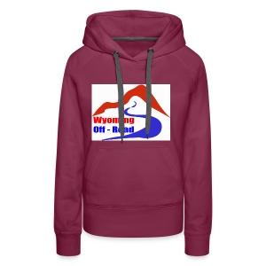 Wyoming Off Road Logo - Women's Premium Hoodie