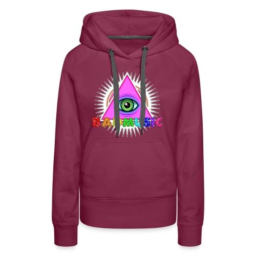 Illuminati BadMusic - Women's Premium Hoodie
