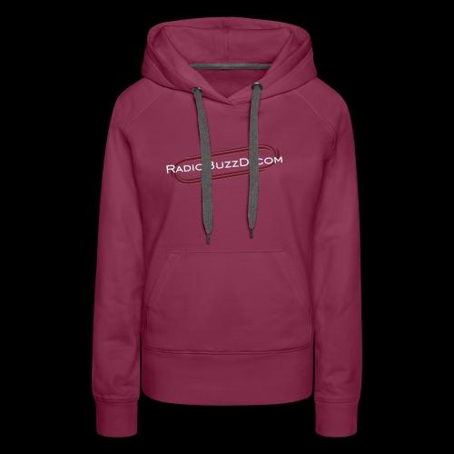 RadioBuzzD Shop Online Radio Station - Women's Premium Hoodie