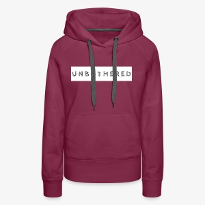 Simple Collection Unbothered - Women's Premium Hoodie
