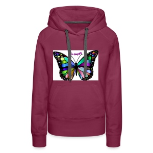 Happy Butterfly - Women's Premium Hoodie