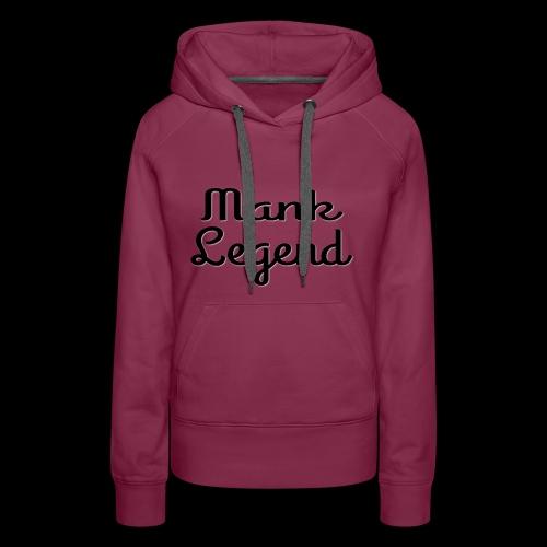 Mank Large Logo - Women's Premium Hoodie