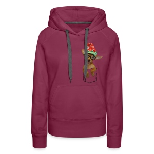 Is that a chaweenie in your pocket? - Women's Premium Hoodie
