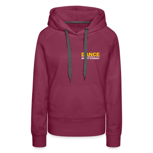 Dance Channel TV Logo - Women's Premium Hoodie