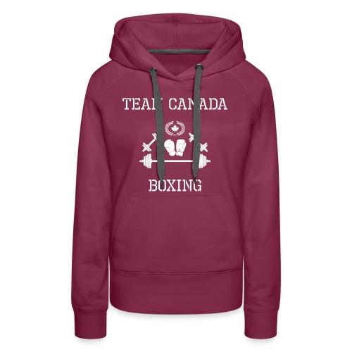 Team Canada Boxing - Women's Premium Hoodie