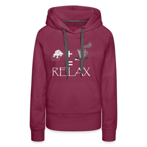 RELAX2 - Women's Premium Hoodie
