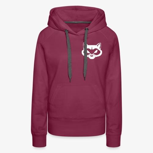 Raccoon Logo Hoodie - Women's Premium Hoodie