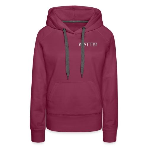 metter - Women's Premium Hoodie