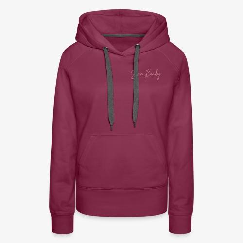 Boss Ready Pink Graphic - Women's Premium Hoodie